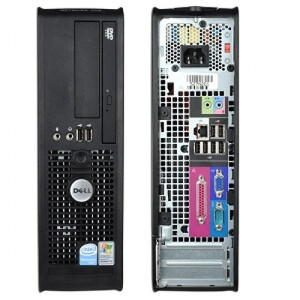 Komputer stacjonarny DELL 755 Intel Core2Duo 2x2.4Ghz/80Gb/2GR RAM SFF/ WINDOWS XP