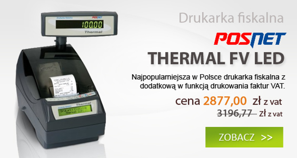 Drukarka fiskalna Thermal FV LED
